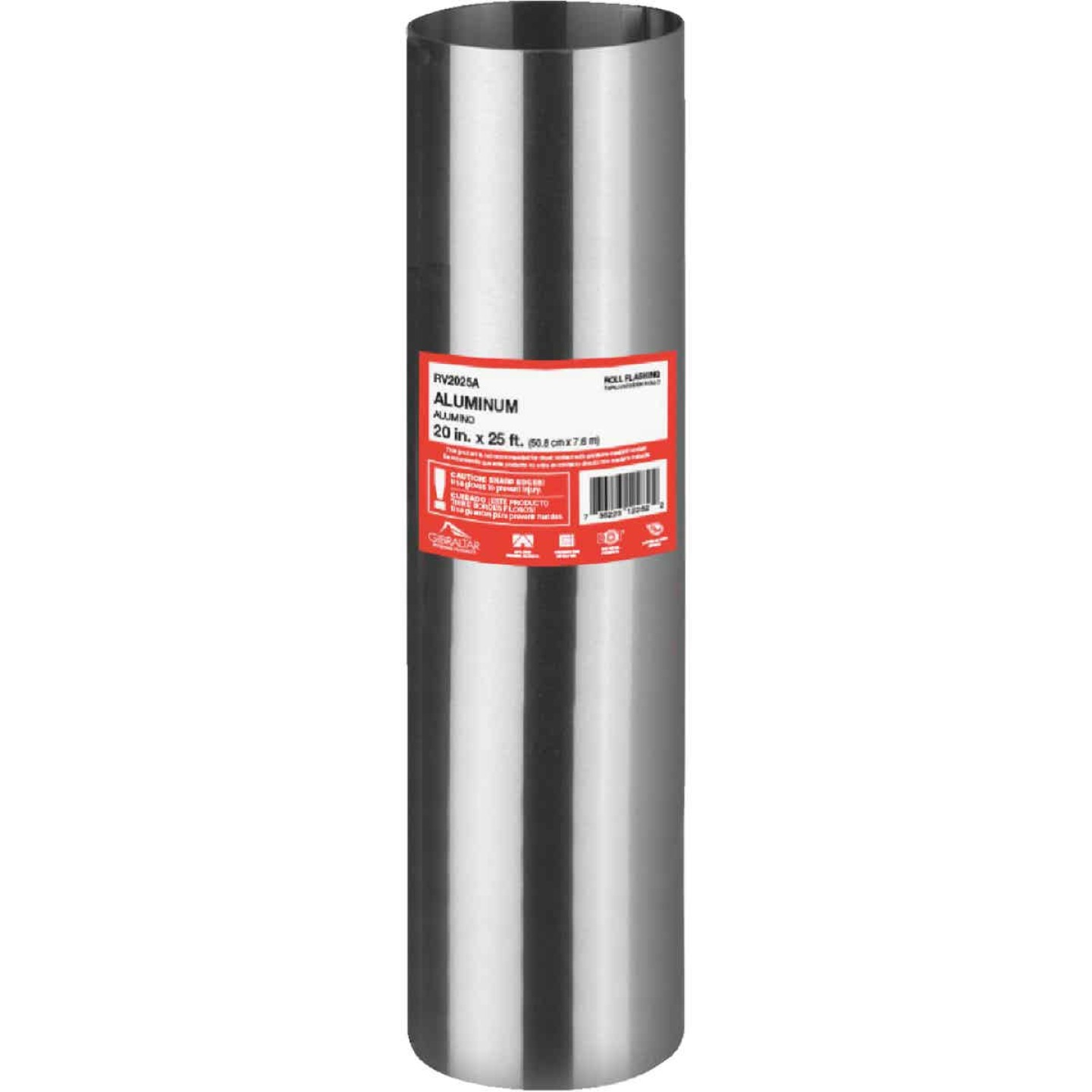 NorWesco 20 In. x 25 Ft. Mill Aluminum Roll Valley Flashing Image 1