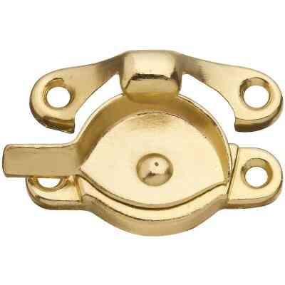 National Brass 7/8 In. Crescent Sash Lock