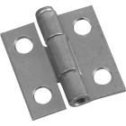 National 1 In. Zinc Loose-Pin Narrow Hinge (2-Pack) Image 1