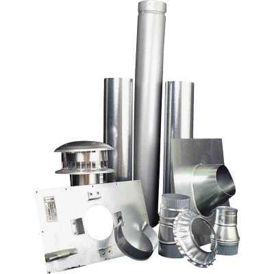 MR. HEATER Vertical Garage Heater Vent Kit (10-Piece)