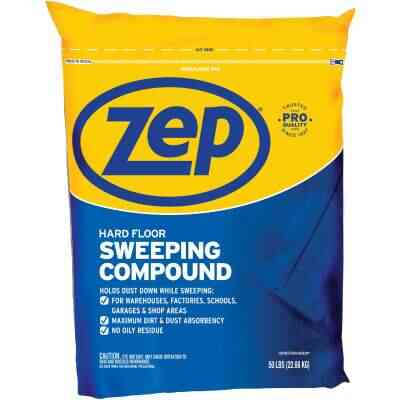 Zep Commercial 50 Lb. Hard Floor Sweeping Compound