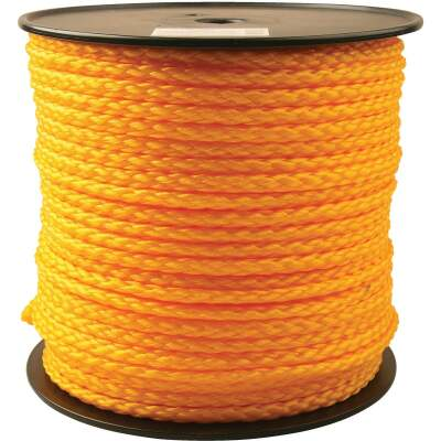 Do it 3/8 In. x 400 Ft. Yellow Braided Polypropylene Rope
